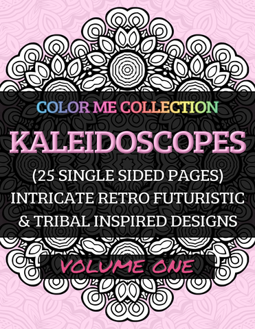 Color Me - Book - Kaleidoscopes - Volume One