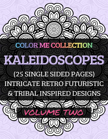 Color Me - Book - Kaleidoscopes - Volume Two