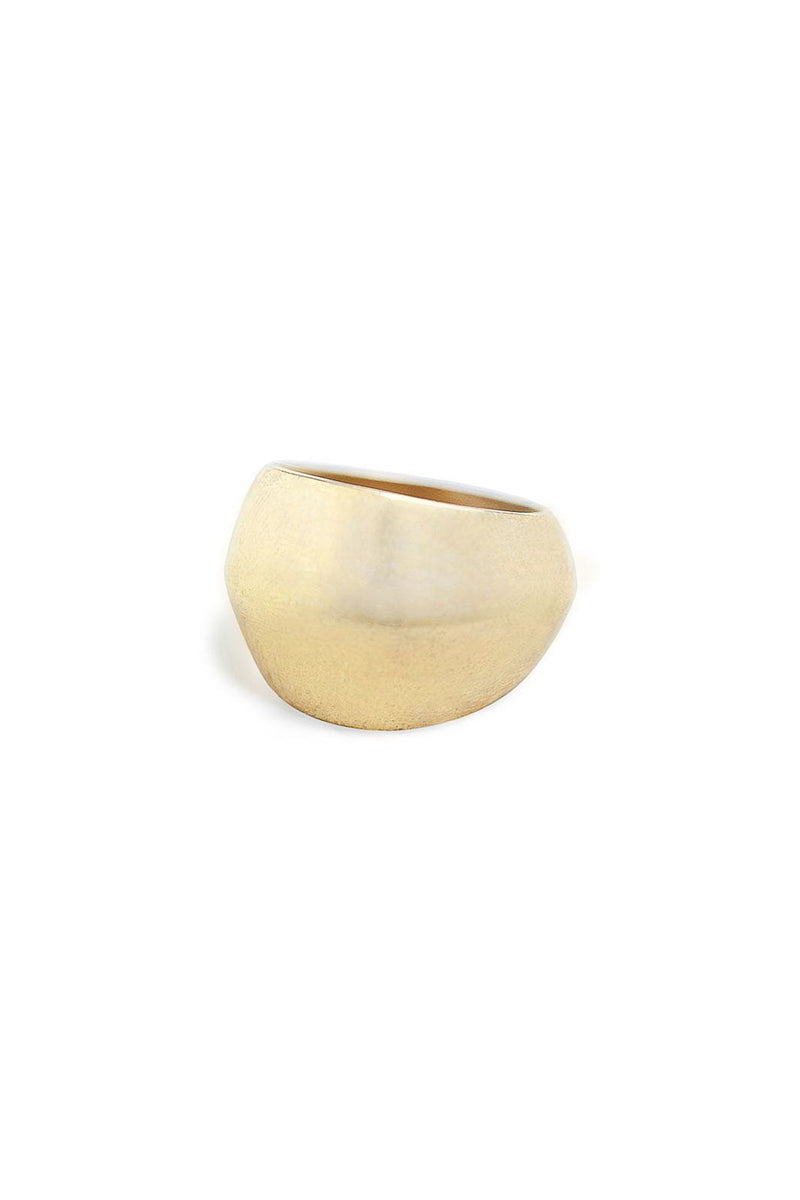 Soko Ivara Statement Ring in Brass
