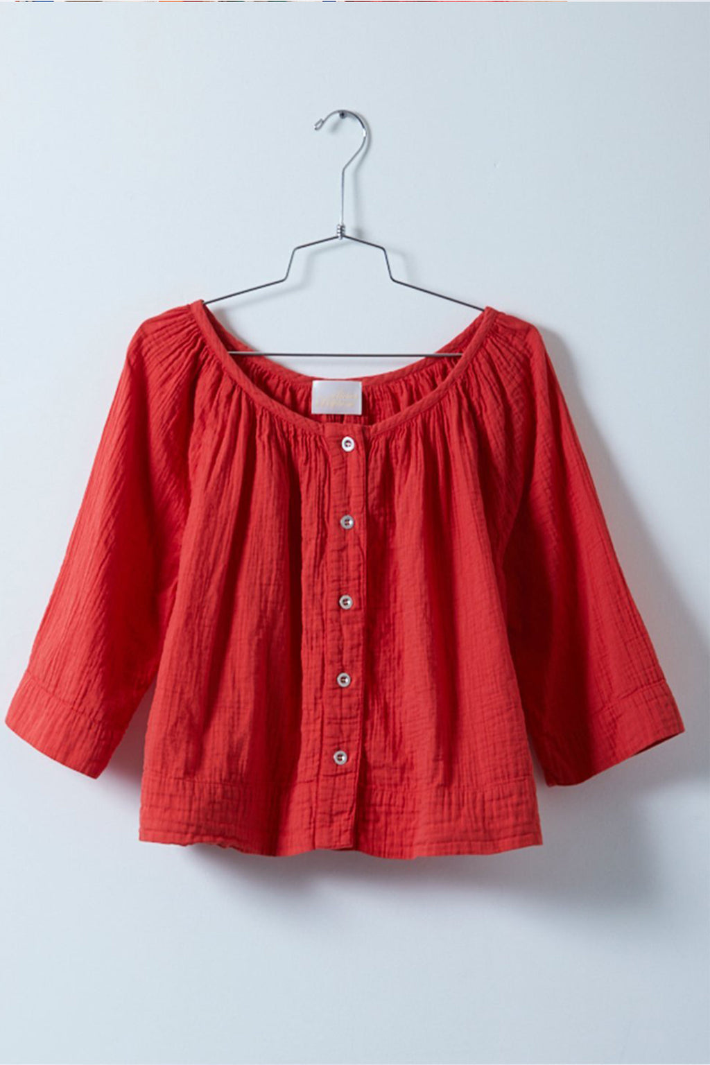 Atelier Delphine Millie Top in Scarlett