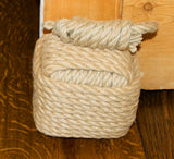 Square Rope Nautical Themed Door Stop