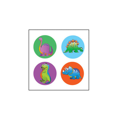 Incentive Stickers - Dinosaur - Creative Shapes Etc.