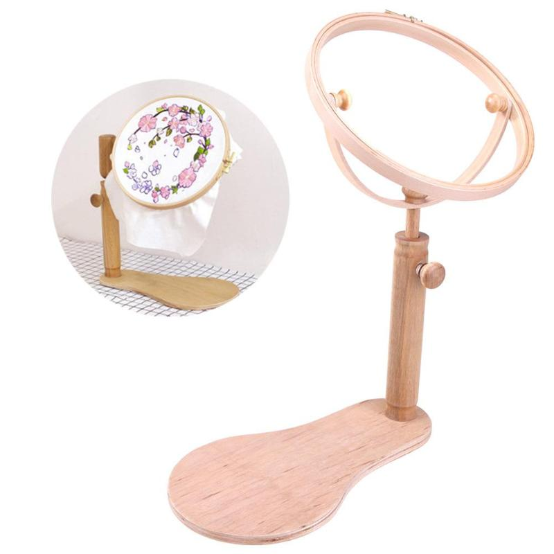 Embroidery Hoop Stand Wood