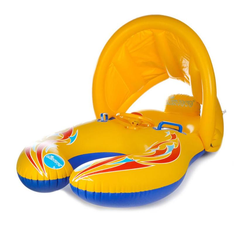 Mother Kids Swimming Ring