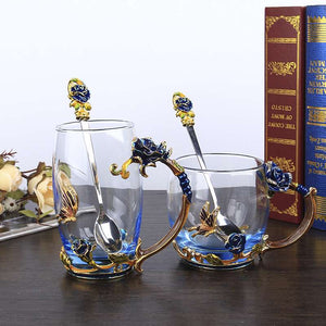 Enamel Glass