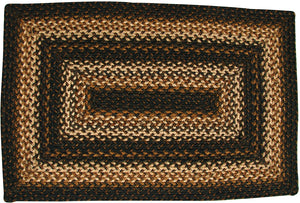 Kilimanjaro Rectangle Jute Braided Rug - 4' x 6'