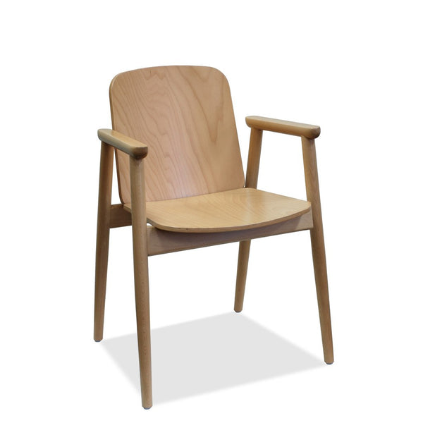Ainslee B-Prop-4390 Bentwood Arm Chair