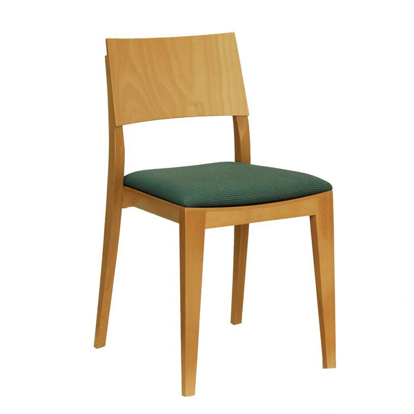 Natural bentwood chair - icon