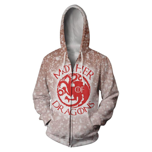 Game of Thrones Mother of Dragons Hooded Sweatshirt Hoodie