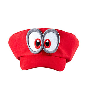 Super Mario Odyssey Cappy Hat Cosplay Accessory Red