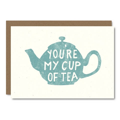 Little City Love - My Cup Of Tea Card