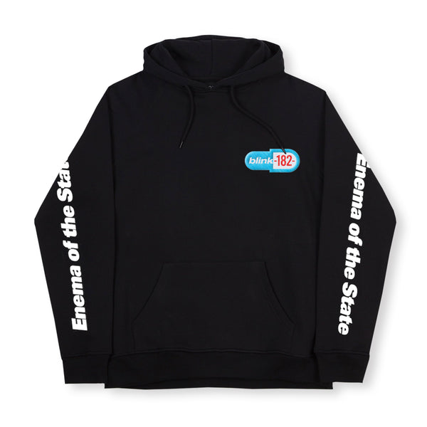 ENEMA EMBROIDERED HOODIE