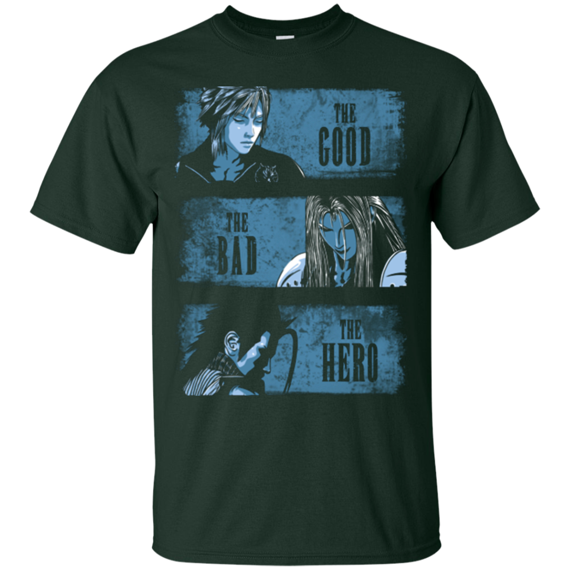 The Good the Bad and the Hero T-Shirt