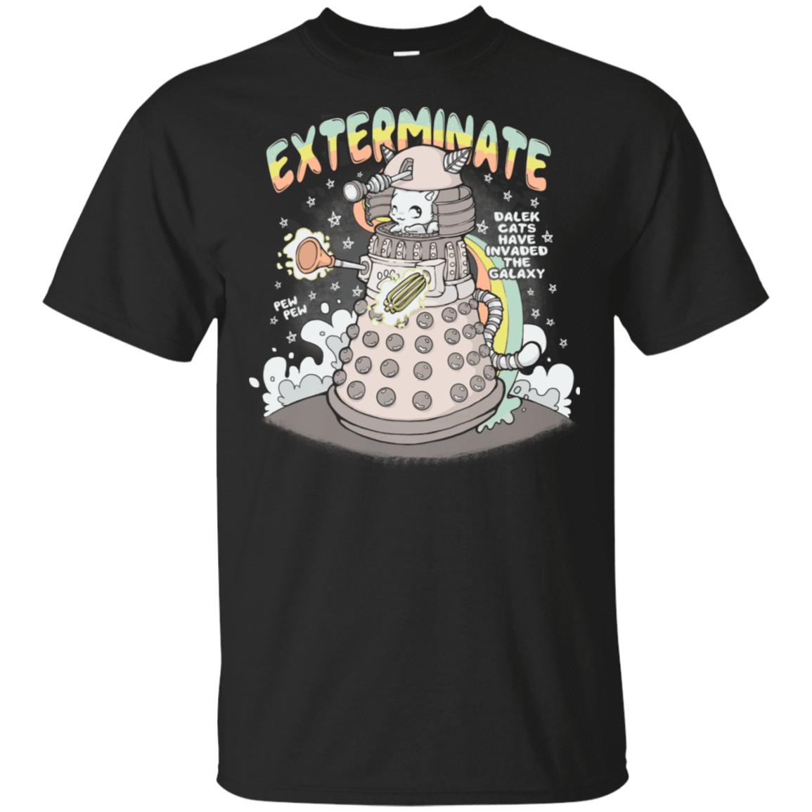 Dalek Cat T-Shirt