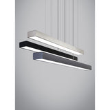 Finish options of Knox Linear Suspension from tech lighting