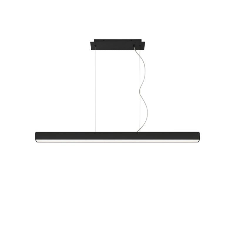 Knox Linear Suspension, black finish, 3000k, Tech Lighting