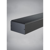 details of black knox linear suspension from tech lighting
