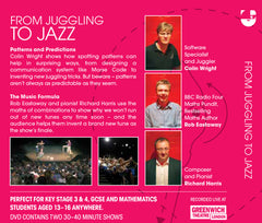 From Juggling To Jazz - Maths Inspiration DVD
