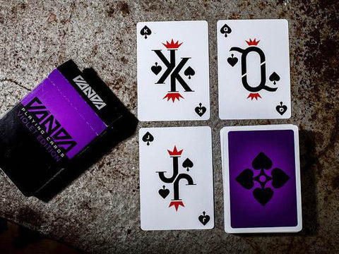 Limited edition symmetrical playing cards