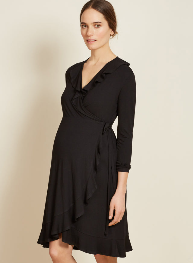 Aurelia Maternity Wrap Dress