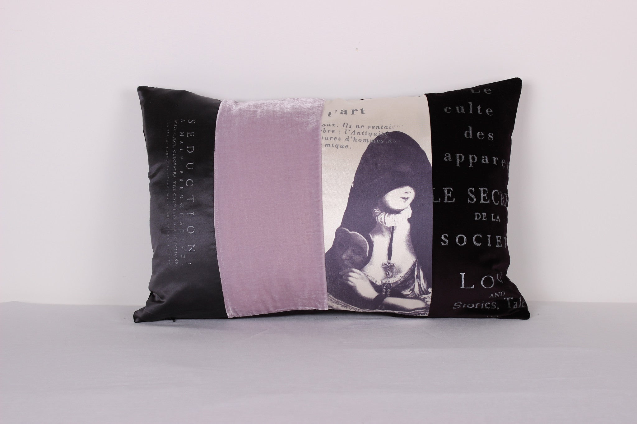 "Cloaked Lady Cushion ""Seduction"""