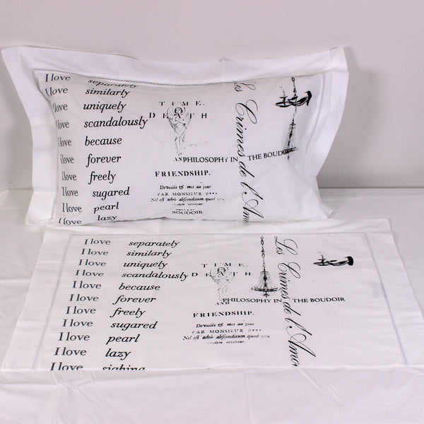 I love... Cotton Pillowslips - Pair