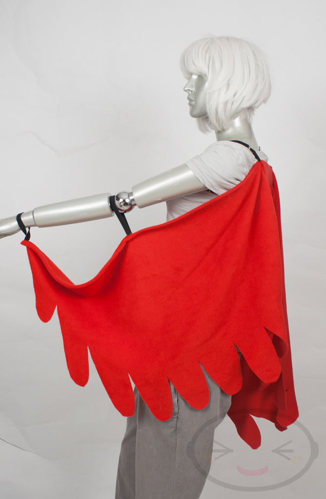 Long Red Cardinal Wings and/or Tail Set - Color Options