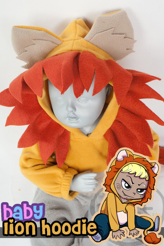 Baby Lion Hoodie