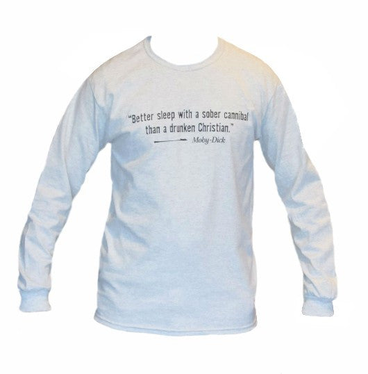 Long Sleeve Melville Society T-Shirt
