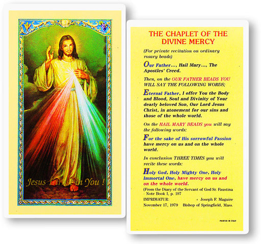chaplet_of_the_divine_mercy_holy_card