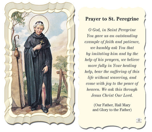 st_peregrine_holy_card