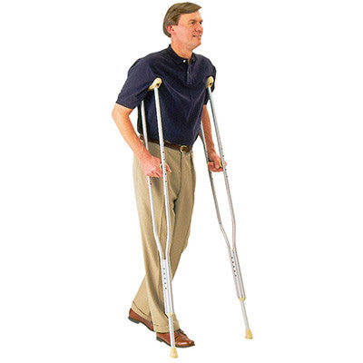Aluminum Crutches - Tall