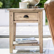 Chelwood Reclaimed Wood Side Table