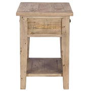 Chelwood Reclaimed Wood Side Table Side
