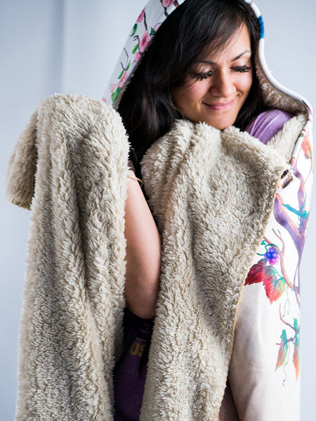Seasons Hooded Blanket Hooded Blanket Electro Threads