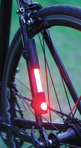 Fibre Flare CYCLOPS | H.L.S. (Hybrid Light System) - Red Tail Light