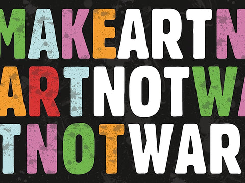 Erin Clark - Make Art Not War