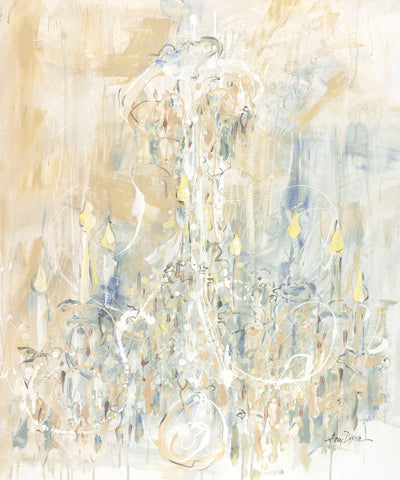 Amy Dixon - Shades of White Chandelier