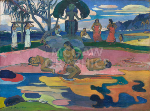 Paul Gauguin - Day of the God (Mahana no Atua), 1894