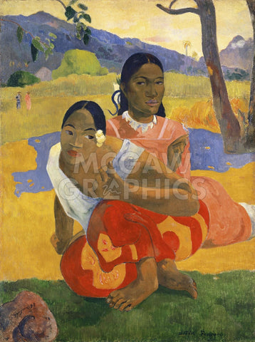 Paul Gauguin - When Will You Marry?, 1892
