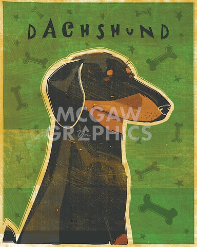 John W. Golden - Dachshund (black and tan)