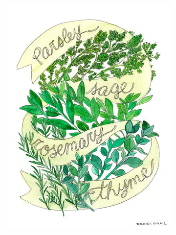 Marcella Kriebel - Parsley Sage Rosemary Thyme