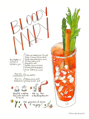 Marcella Kriebel - Bloody Mary
