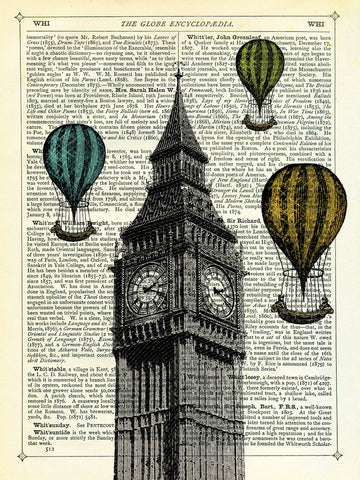 Marion McConaghie - Big Ben & Balloons