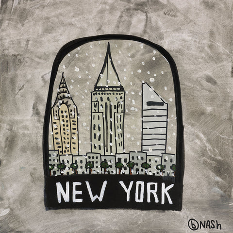 Brian Nash - New York Snow Globe