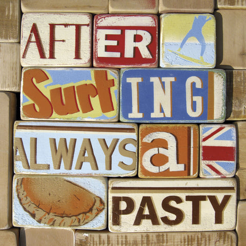 Norfolk Boy - After Surfing Always a Pasty