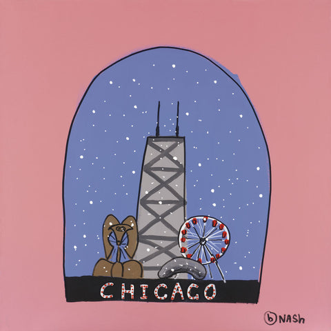 Brian Nash - Chicago Snow Globe