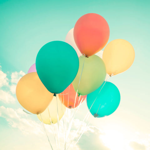 Summer Photography - Colorful Balloons