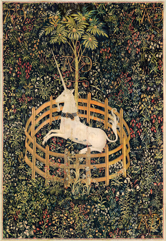 Unknown Tapestry Artist - The Unicorn in Captivity, between circa 1495 and circa 1505