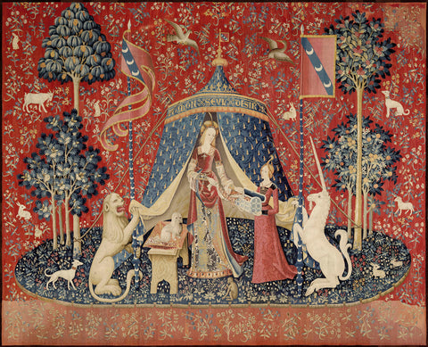 Unknown Tapestry Artist - The Lady and the Unicorn, between 1484 and 1500